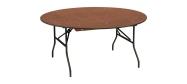 Rundt bord Event Ø160 cm med klapstel