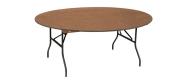 Rundt bord Event Ø180 cm med klapstel